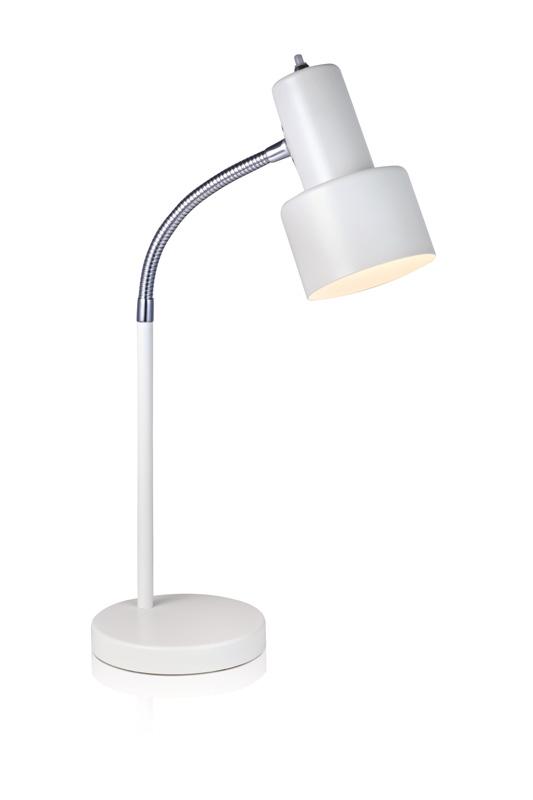 Настольная лампа 104615Настольные лампы<br>Настольная лампа. Бренд - MarkSojd&amp;LampGustaf. тип лампы - накаливания или LED. количество ламп - 1. тип цоколя - E14. мощность лампы - 40. цвет арматуры - белый. цвет плафона - белый. материал арматуры - металл. материал плафона - металл. высота - 480. ширина/диаметр - 150. степень защиты ip - 20. форма - круг. стиль - модерн. страна происхождения - Швеция. коллекция - GLOMMEN. напряжение - 220.<br><br>Бренд: MarkSojd&amp;LampGustaf<br>тип лампы: накаливания или LED<br>количество ламп: 1<br>тип цоколя: E14<br>мощность лампы: 40<br>цвет арматуры: белый<br>цвет плафона: белый<br>материал арматуры: металл<br>материал плафона: металл<br>высота: 480<br>ширина/диаметр: 150<br>степень защиты ip: 20<br>форма: круг<br>стиль: модерн<br>страна происхождения: Швеция<br>коллекция: GLOMMEN<br>напряжение: 220