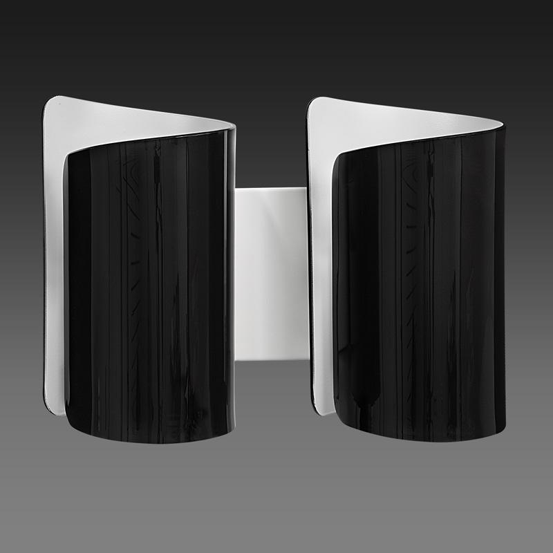 Бра 811627 LightstarНастенные и бра<br>811627 (MB6000-2BL) Бра  PITTORE 2х40W  Е27 ЧЕРНЫЙ/БЕЛЫЙ. Бренд - Lightstar. материал плафона - стекло. цвет плафона - черный. тип цоколя - E27. тип лампы - накаливания или LED. мощность - 40. количество ламп - 2.<br><br>популярные производители: Lightstar<br>материал плафона: стекло<br>цвет плафона: черный<br>тип цоколя: E27<br>тип лампы: накаливания или LED<br>максимальная мощность лампочки: 40<br>количество лампочек: 2