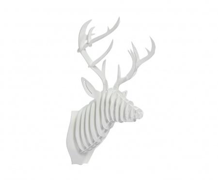 Декоративная голова оленя White DG-HOME от Дивайн Лайт