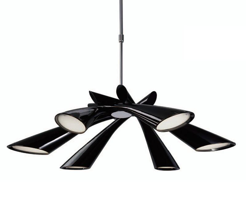 Потолочная люстра на штанге 0900 Mantraна штанге<br>PENDANT 6L. Бренд - Mantra. материал плафона - пластик. цвет плафона - черный. тип цоколя - E27. тип лампы - накаливания или LED. ширина/диаметр - 840. мощность - 13. количество ламп - 6. особенности - Дизайнерская люстра на штанге .<br><br>популярные производители: Mantra<br>материал плафона: пластик<br>цвет плафона: черный<br>тип цоколя: E27<br>тип лампы: накаливания или LED<br>ширина/диаметр: 840<br>максимальная мощность лампочки: 13<br>количество лампочек: 6<br>особенности: Дизайнерская люстра на штанге
