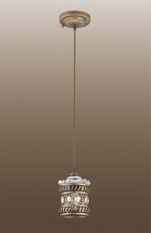 Подвесной  потолочный светильник 2838/1 Odeon Lightподвесные<br>2838/1 ODL16 155 коричневый с патиной/декор хрусталь Подвес E14 40W 220V ZAFRAN. Бренд - Odeon Light. материал плафона - металл. цвет плафона - коричневый. тип цоколя - E14. тип лампы - накаливания или LED. ширина/диаметр - 130. мощность - 40. количество ламп - 1.<br><br>популярные производители: Odeon Light<br>материал плафона: металл<br>цвет плафона: коричневый<br>тип цоколя: E14<br>тип лампы: накаливания или LED<br>ширина/диаметр: 130<br>максимальная мощность лампочки: 40<br>количество лампочек: 1