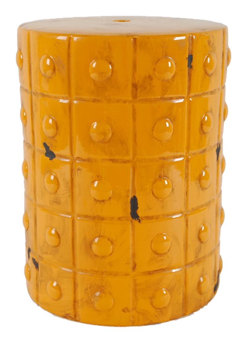 Керамический столик-табурет Mustard Stool Orange DG-HOMEСтолы<br>. Бренд - DG-HOME. ширина/диаметр - 22. материал - Керамика.<br><br>популярные производители: DG-HOME<br>ширина/диаметр: 22<br>материал: Керамика