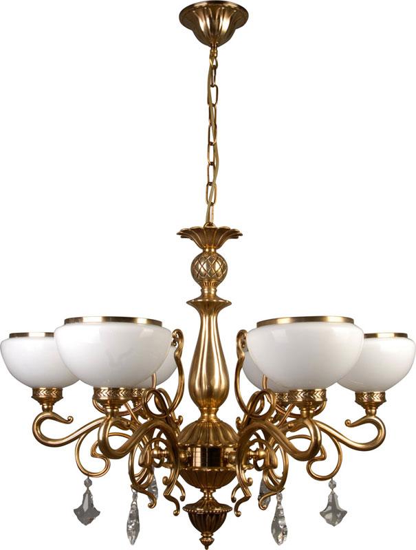 Потолочная люстра подвесная 309-06-52 N-Lightподвесные<br>алюминиевый сплав+стекло+хрусталь;6x60W, E27, 230V<br>D=780mm<br>H=580mm. Бренд - N-Light. материал плафона - стекло. цвет плафона - белый. тип цоколя - E27. тип лампы - накаливания или LED. ширина/диаметр - 780. мощность - 60. количество ламп - 6.<br><br>популярные производители: N-Light<br>материал плафона: стекло<br>цвет плафона: белый<br>тип цоколя: E27<br>тип лампы: накаливания или LED<br>ширина/диаметр: 780<br>максимальная мощность лампочки: 60<br>количество лампочек: 6