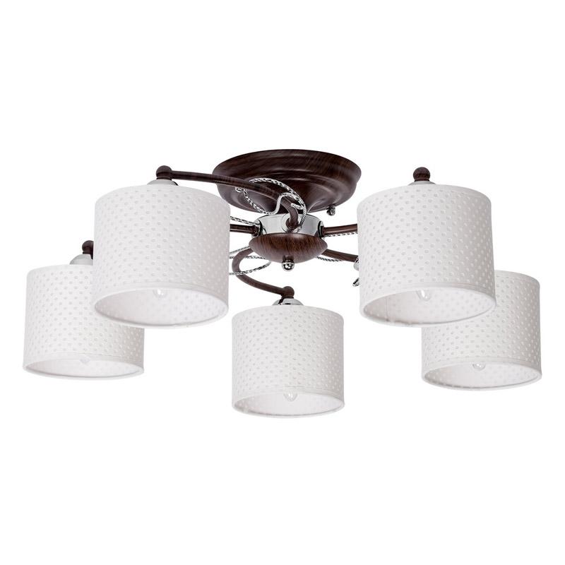 Потолочная люстра накладная 364013305 MW-Lightнакладные<br>364013305. Бренд - MW-Light. материал плафона - ткань. цвет плафона - белый. тип цоколя - E27. тип лампы - накаливания или LED. ширина/диаметр - 600. мощность - 60. количество ламп - 5.<br><br>популярные производители: MW-Light<br>материал плафона: ткань<br>цвет плафона: белый<br>тип цоколя: E27<br>тип лампы: накаливания или LED<br>ширина/диаметр: 600<br>максимальная мощность лампочки: 60<br>количество лампочек: 5