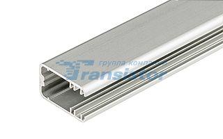 Алюминиевый профиль-держатель для освещения краев стекла толщиной 8-9 мм. Анодированный. Подходят св Arlight