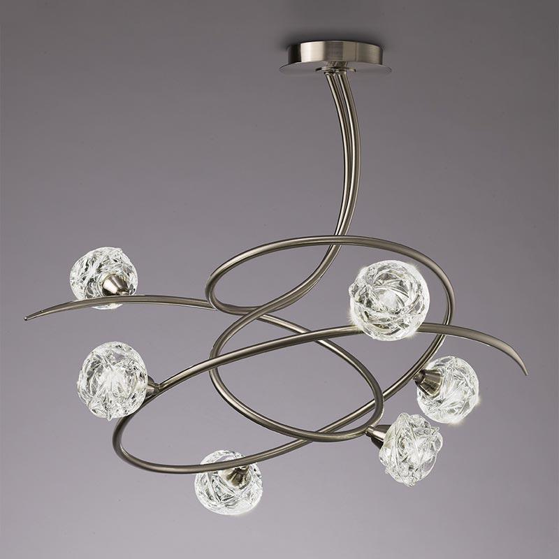 Потолочная люстра на штанге 4541 Mantraна штанге<br>PENDANT 6L. Бренд - Mantra. материал плафона - стекло. цвет плафона - прозрачный. тип цоколя - G9. тип лампы - галогеновая или LED. ширина/диаметр - 628. мощность - 33. количество ламп - 6.<br><br>популярные производители: Mantra<br>материал плафона: стекло<br>цвет плафона: прозрачный<br>тип цоколя: G9<br>тип лампы: галогеновая или LED<br>ширина/диаметр: 628<br>максимальная мощность лампочки: 33<br>количество лампочек: 6