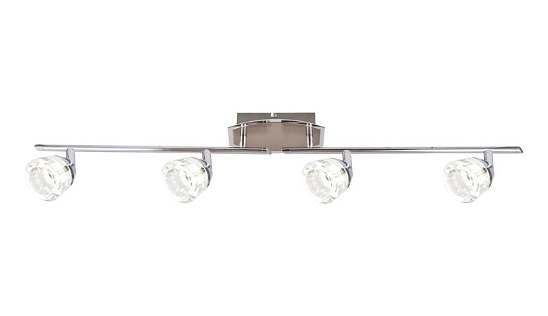 спот 56179-4 GloboСпоты<br>56179-4. Бренд - Globo. материал плафона - стекло. цвет плафона - прозрачный. тип лампы - LED. ширина/диаметр - 185. мощность - 5. количество ламп - 4.<br><br>популярные производители: Globo<br>материал плафона: стекло<br>цвет плафона: прозрачный<br>тип лампы: LED<br>ширина/диаметр: 185<br>максимальная мощность лампочки: 5<br>количество лампочек: 4