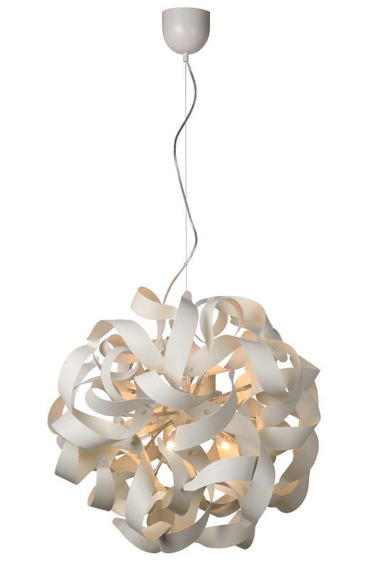 Потолочная люстра подвесная 13408/12/31 LUCIDEподвесные<br>ATOMITA Pendant D65cm 12xG9/40W White. Бренд - LUCIDE. материал плафона - алюминий. цвет плафона - белый. тип цоколя - G9. тип лампы - галогеновая или LED. ширина/диаметр - 650. мощность - 28. количество ламп - 12. особенности - Дизайнерская люстра подвесная.<br><br>популярные производители: LUCIDE<br>материал плафона: алюминий<br>цвет плафона: белый<br>тип цоколя: G9<br>тип лампы: галогеновая или LED<br>ширина/диаметр: 650<br>максимальная мощность лампочки: 28<br>количество лампочек: 12<br>особенности: Дизайнерская люстра подвесная