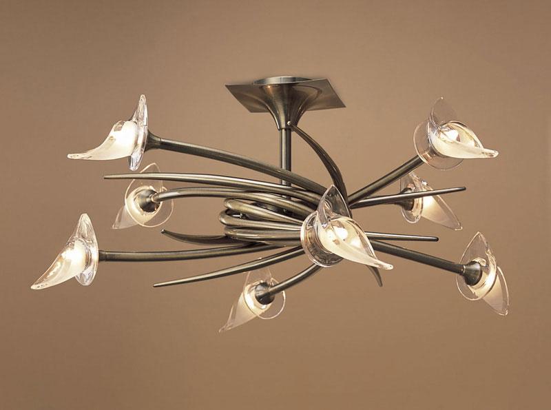 Потолочная люстра на штанге 0374 Mantraна штанге<br>CEILING 8L. Бренд - Mantra. материал плафона - стекло. цвет плафона - прозрачный. тип цоколя - G9. тип лампы - галогеновая или LED. ширина/диаметр - 750. мощность - 40. количество ламп - 8.<br><br>популярные производители: Mantra<br>материал плафона: стекло<br>цвет плафона: прозрачный<br>тип цоколя: G9<br>тип лампы: галогеновая или LED<br>ширина/диаметр: 750<br>максимальная мощность лампочки: 40<br>количество лампочек: 8