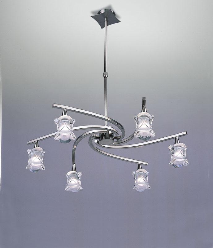 Потолочная люстра на штанге 0033 Mantraна штанге<br>PENDANT 6 LIGHTS (Adjutstable). Бренд - Mantra. материал плафона - стекло. цвет плафона - прозрачный. тип цоколя - G9. тип лампы - галогеновая или LED. ширина/диаметр - 640. мощность - 40. количество ламп - 6.<br><br>популярные производители: Mantra<br>материал плафона: стекло<br>цвет плафона: прозрачный<br>тип цоколя: G9<br>тип лампы: галогеновая или LED<br>ширина/диаметр: 640<br>максимальная мощность лампочки: 40<br>количество лампочек: 6
