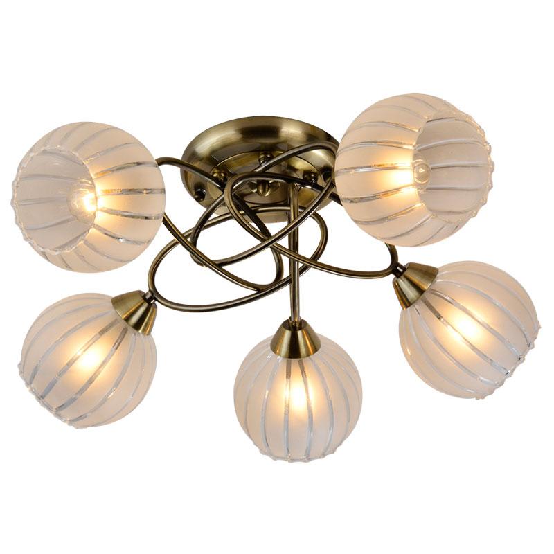 Потолочная люстра накладная 230/5PF-Oldbronze IDLampнакладные<br>Потолочный. Бренд - IDLamp. материал плафона - стекло. цвет плафона - белый. тип цоколя - E27. тип лампы - накаливания или LED. ширина/диаметр - 560. мощность - 60. количество ламп - 5.<br><br>популярные производители: IDLamp<br>материал плафона: стекло<br>цвет плафона: белый<br>тип цоколя: E27<br>тип лампы: накаливания или LED<br>ширина/диаметр: 560<br>максимальная мощность лампочки: 60<br>количество лампочек: 5