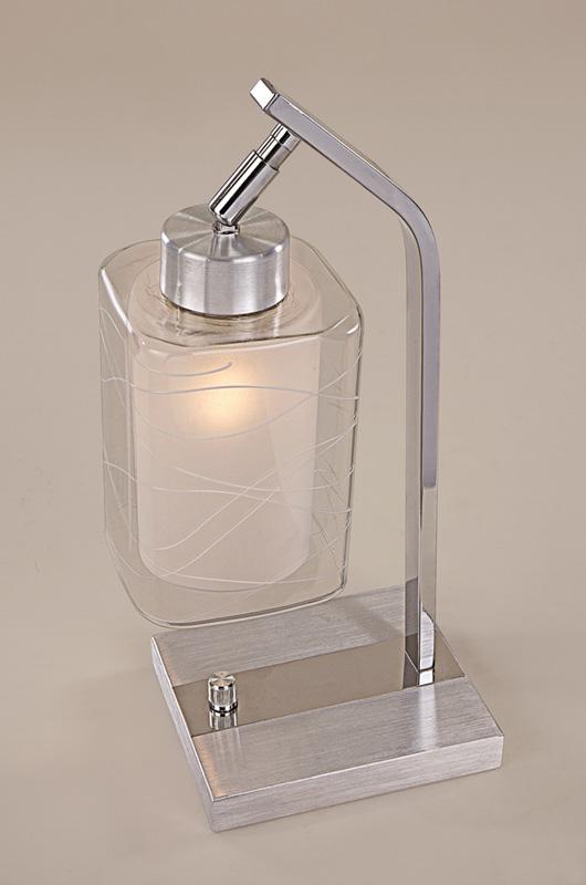 Настольная лампа CL159812 CitiluxНастольные лампы<br>CL159812 Румба Алюм.+Хром Св-к Настольный. Бренд - Citilux. материал плафона - стекло. цвет плафона - прозрачный. тип цоколя - E27. тип лампы - накаливания или LED. ширина/диаметр - 140. мощность - 75. количество ламп - 1.<br><br>популярные производители: Citilux<br>материал плафона: стекло<br>цвет плафона: прозрачный<br>тип цоколя: E27<br>тип лампы: накаливания или LED<br>ширина/диаметр: 140<br>максимальная мощность лампочки: 75<br>количество лампочек: 1
