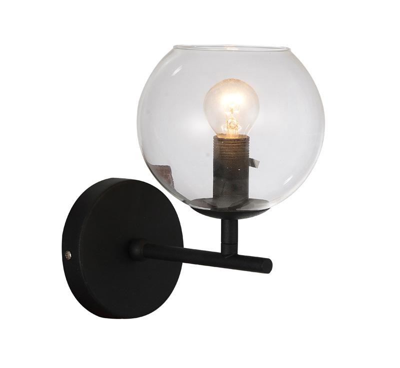 Бра 1491-1W FavouriteНастенные и бра<br>Настенный светильник. Бренд - Favourite. материал плафона - стекло. цвет плафона - прозрачный. тип цоколя - E14. тип лампы - накаливания или LED. ширина/диаметр - 150. мощность - 40. количество ламп - 1. особенности - Дизайнерский настенный светильник.<br><br>популярные производители: Favourite<br>материал плафона: стекло<br>цвет плафона: прозрачный<br>тип цоколя: E14<br>тип лампы: накаливания или LED<br>ширина/диаметр: 150<br>максимальная мощность лампочки: 40<br>количество лампочек: 1<br>особенности: Дизайнерский настенный светильник