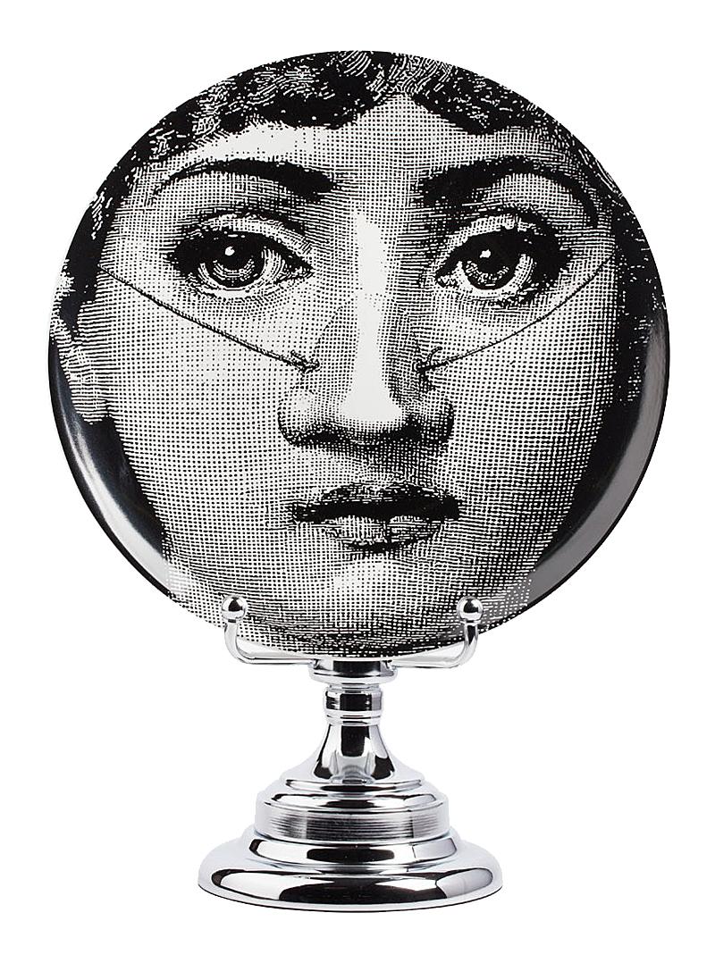 Декоративная тарелка на подставке Пьеро Форназетти Baffi DG-HOME от Дивайн Лайт