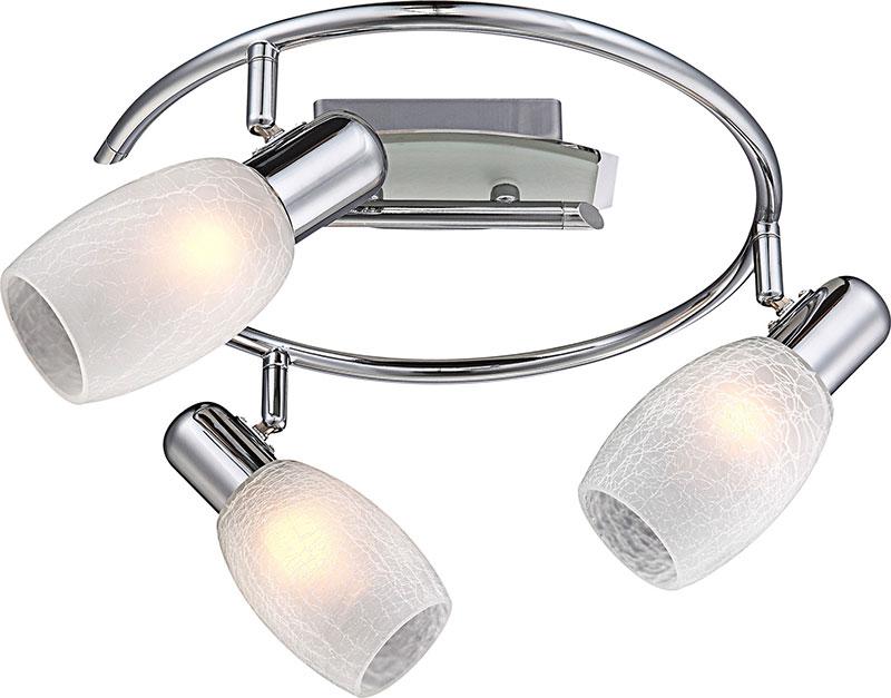 спот 54917-3 GloboСпоты<br>54917-3. Бренд - Globo. материал плафона - стекло. цвет плафона - белый. тип цоколя - E14. тип лампы - накаливания или LED. ширина/диаметр - 300. мощность - 40. количество ламп - 3.<br><br>популярные производители: Globo<br>материал плафона: стекло<br>цвет плафона: белый<br>тип цоколя: E14<br>тип лампы: накаливания или LED<br>ширина/диаметр: 300<br>максимальная мощность лампочки: 40<br>количество лампочек: 3