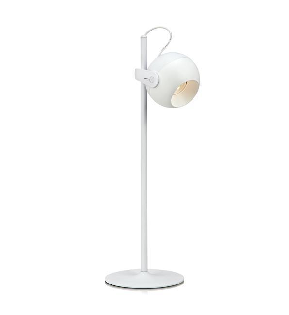 Настольная лампа 105599Настольные лампы<br>Настольная лампа. Бренд - MarkSojd&amp;LampGustaf. тип лампы - LED. количество ламп - 1. мощность лампы - 3. цвет арматуры - белый. цвет плафона - белый. материал арматуры - металл. материал плафона - металл. высота - 480. ширина/диаметр - 150. длина - 175. степень защиты ip - 20. форма - круг. стиль - хай-тек. страна происхождения - Швеция. коллекция - KLOT. напряжение - 220.<br><br>Бренд: MarkSojd&amp;LampGustaf<br>тип лампы: LED<br>количество ламп: 1<br>мощность лампы: 3<br>цвет арматуры: белый<br>цвет плафона: белый<br>материал арматуры: металл<br>материал плафона: металл<br>высота: 480<br>ширина/диаметр: 150<br>длина: 175<br>степень защиты ip: 20<br>форма: круг<br>стиль: хай-тек<br>страна происхождения: Швеция<br>коллекция: KLOT<br>напряжение: 220