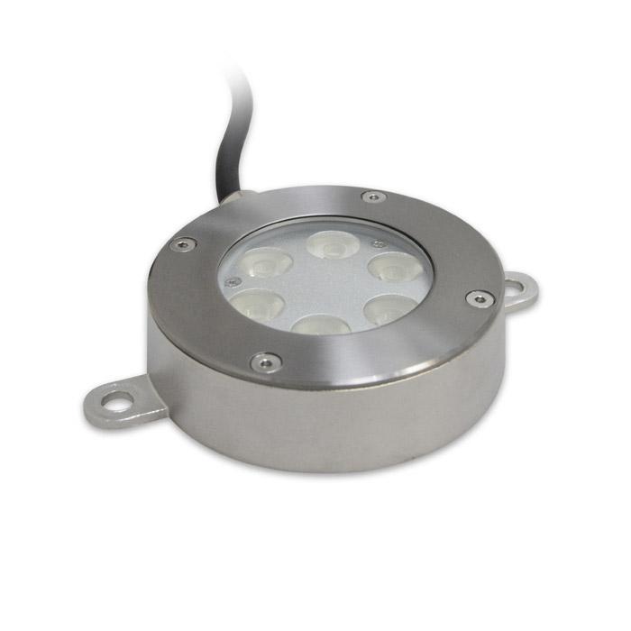 Светильник влагозащищенный B4B0602 MaysunДля фонтанов и бассейнов<br>Накладной светодиодный светильник B4B0602 DC12/24V 15.1W IP68  (Белый) (D-02-L). Бренд - Maysun. тип лампы - LED. ширина/диаметр - 115. мощность - 15.1.<br><br>популярные производители: Maysun<br>тип лампы: LED<br>ширина/диаметр: 115<br>максимальная мощность лампочки: 15.1