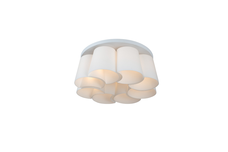 Потолочная люстра накладная SL543.502.08 ST-Luceнакладные<br>Светильник потолочный . Бренд - ST-Luce. материал плафона - стекло. цвет плафона - белый. тип цоколя - E27. тип лампы - накаливания или LED. ширина/диаметр - 700. мощность - 60. количество ламп - 8.<br><br>популярные производители: ST-Luce<br>материал плафона: стекло<br>цвет плафона: белый<br>тип цоколя: E27<br>тип лампы: накаливания или LED<br>ширина/диаметр: 700<br>максимальная мощность лампочки: 60<br>количество лампочек: 8