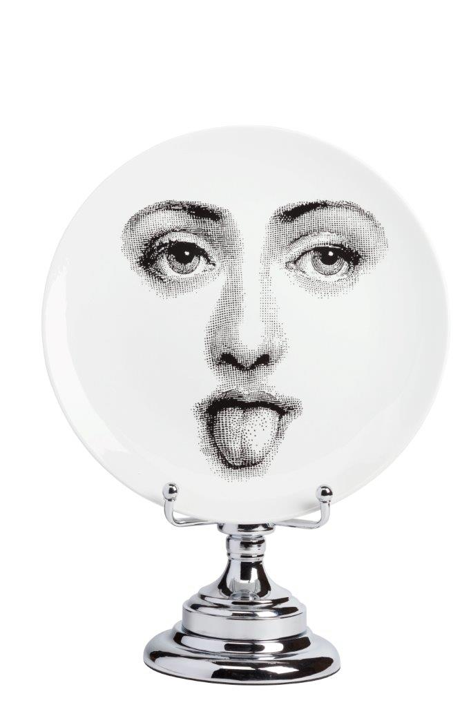 Декоративная тарелка на подставке Пьеро Форназетти Smilzo DG-HOME от Дивайн Лайт