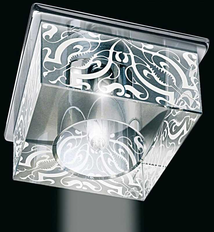Точечный светильник 1640CR Gumarcrisвстраиваемые<br>Светильник декоративный. Бренд - Gumarcris. материал плафона - стекло. цвет плафона - прозрачный. тип цоколя - G9. тип лампы - галогеновая или LED. ширина/диаметр - 10. мощность - 60. количество ламп - 1.<br><br>популярные производители: Gumarcris<br>материал плафона: стекло<br>цвет плафона: прозрачный<br>тип цоколя: G9<br>тип лампы: галогеновая или LED<br>ширина/диаметр: 10<br>максимальная мощность лампочки: 60<br>количество лампочек: 1