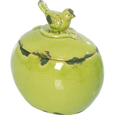 Декоративная банка Furla Olive Grande DG-HOMEДекоративные предметы хранения<br>. Бренд - DG-HOME. ширина/диаметр - 170. материал - Керамика. цвет - Зелёный.<br><br>популярные производители: DG-HOME<br>ширина/диаметр: 170<br>материал: Керамика<br>цвет: Зелёный