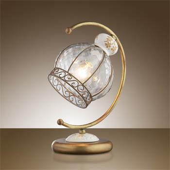 Odeon Light 2278/1T ODL12 217 коричневый/керамика Н/лампа E14 40W 220V ASULA