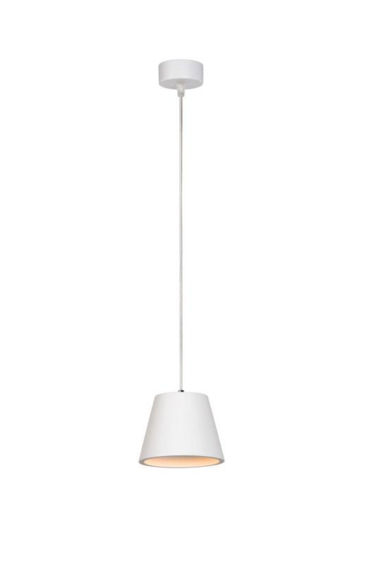 Подвесной  потолочный светильник 35402/10/31 LUCIDEподвесные<br>GIPSY Pendant  Round GU10 D13 H10cm White. Бренд - LUCIDE. материал плафона - гипс. цвет плафона - белый. тип цоколя - GU10. тип лампы - галогеновая или LED. ширина/диаметр - 130. мощность - 35. количество ламп - 1.<br><br>популярные производители: LUCIDE<br>материал плафона: гипс<br>цвет плафона: белый<br>тип цоколя: GU10<br>тип лампы: галогеновая или LED<br>ширина/диаметр: 130<br>максимальная мощность лампочки: 35<br>количество лампочек: 1