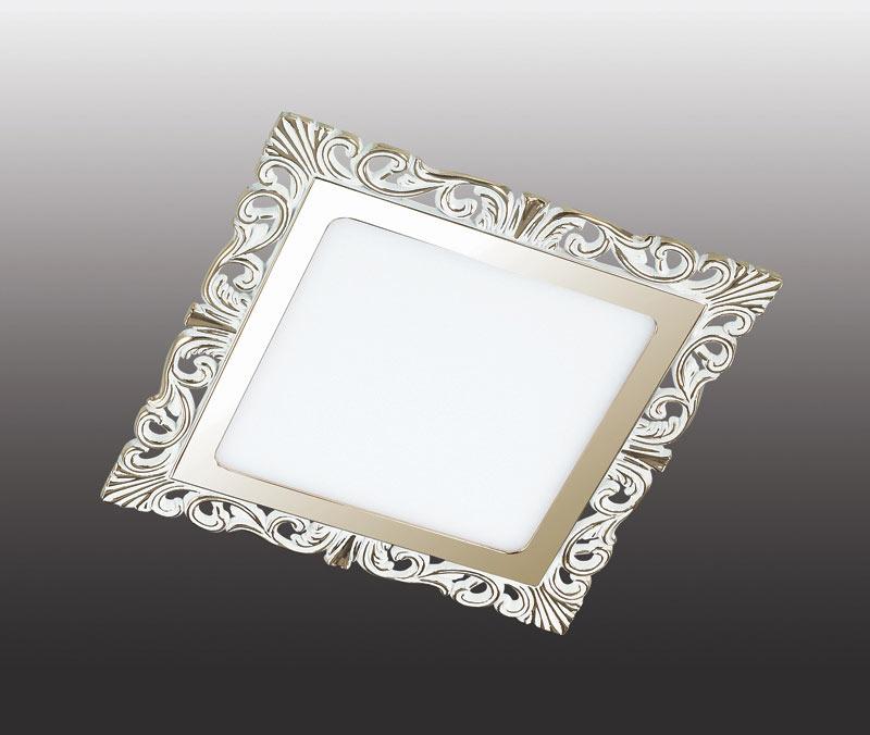Точечный светильник 357278 Novotechвстраиваемые<br>357278 NT16 000 белый/золото Встраиваемый светодиодный IP20 SMD 2835 45LED 9W 220-240V PEILI. Бренд - Novotech. материал плафона - пластик. цвет плафона - белый. тип лампы - LED. ширина/диаметр - 165. мощность - 9. количество ламп - 1.<br><br>популярные производители: Novotech<br>материал плафона: пластик<br>цвет плафона: белый<br>тип лампы: LED<br>ширина/диаметр: 165<br>максимальная мощность лампочки: 9<br>количество лампочек: 1
