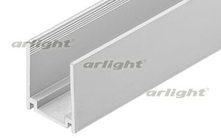 Алюминиевый профиль (U-канал) для неона 15мм NEO-FX5050-S50-240V (15х26 мм). Анодированный. Длина 1м Arlight