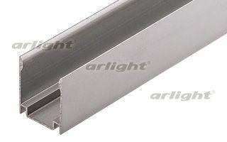 Алюминиевый профиль, U-канал для установки неона ARL-NF-S (13х26 мм). Длина 1м. Arlight