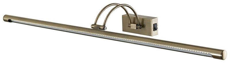 Светильник для картин или зеркал WE405.01.541 WERTMARKДля картин и зеркал<br>настенный. Бренд - WERTMARK. материал плафона - металл. цвет плафона - бронзовый. тип лампы - LED. мощность - 0.07. количество ламп - 114.<br><br>популярные производители: WERTMARK<br>материал плафона: металл<br>цвет плафона: бронзовый<br>тип лампы: LED<br>максимальная мощность лампочки: 0.07<br>количество лампочек: 114