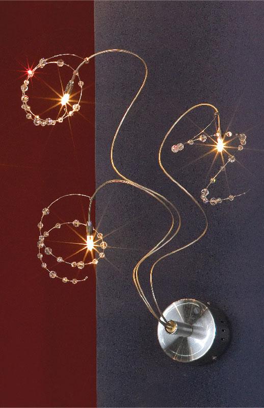 Бра LSF-0401-03 LussoleНастенные и бра<br>LSF-0401-03. Бренд - Lussole. материал плафона - хрусталь. цвет плафона - серый. тип цоколя - G4. тип лампы - галогеновая или LED. ширина/диаметр - 300. мощность - 20. количество ламп - 3.<br><br>популярные производители: Lussole<br>материал плафона: хрусталь<br>цвет плафона: серый<br>тип цоколя: G4<br>тип лампы: галогеновая или LED<br>ширина/диаметр: 300<br>максимальная мощность лампочки: 20<br>количество лампочек: 3