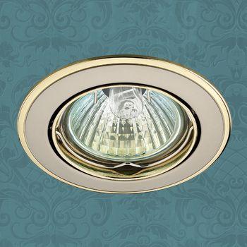 Точечный светильник 369105 Novotechвстраиваемые<br>369105 NT09 288 никель/золото Встраиваемый ПВ GX5.3 50W 12V CROWN. Бренд - Novotech. тип цоколя - GX5.3. тип лампы - галогеновая или LED. ширина/диаметр - 82. мощность - 50. количество ламп - 1.<br><br>популярные производители: Novotech<br>тип цоколя: GX5.3<br>тип лампы: галогеновая или LED<br>ширина/диаметр: 82<br>максимальная мощность лампочки: 50<br>количество лампочек: 1