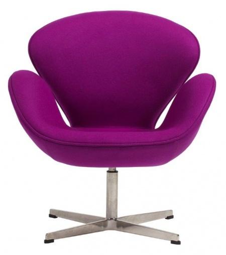 Кресло Swan Chair Лиловый Кашемир DG-HOMEКресла<br>. Бренд - DG-HOME. ширина/диаметр - 5. материал - Ткань, Поролон, Металл.<br><br>популярные производители: DG-HOME<br>ширина/диаметр: 5<br>материал: Ткань, Поролон, Металл