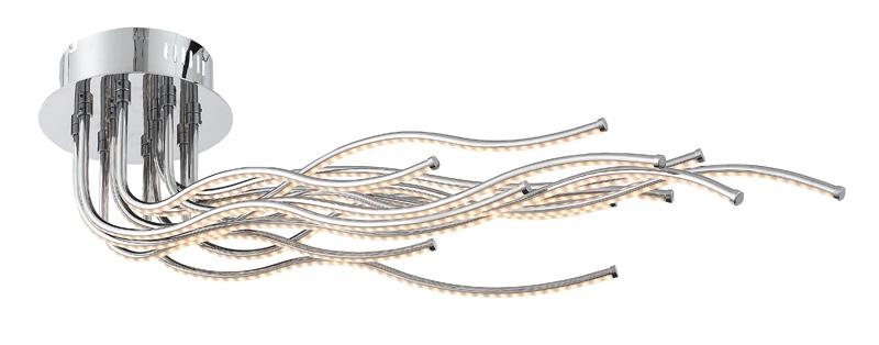 Потолочная люстра накладная SL905.152.12 ST-Luceнакладные<br>SL905.152.12. Бренд - ST-Luce. материал плафона - пластик. цвет плафона - белый. тип лампы - LED. ширина/диаметр - 370. мощность - 60. количество ламп - 12. особенности - Дизайнерская люстра накладная.<br><br>популярные производители: ST-Luce<br>материал плафона: пластик<br>цвет плафона: белый<br>тип лампы: LED<br>ширина/диаметр: 370<br>максимальная мощность лампочки: 60<br>количество лампочек: 12<br>особенности: Дизайнерская люстра накладная