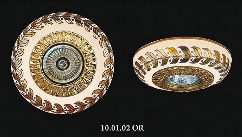 Точечный светильник 100102 OR Heliosвстраиваемые<br>100102 OR  точечный светильник фарфор 100102 OR. Бренд - Helios. материал плафона - фарфор. цвет плафона - белый. тип цоколя - GU5.3. тип лампы - галогеновая или LED. ширина/диаметр - 140. мощность - 50. количество ламп - 1.<br><br>популярные производители: Helios<br>материал плафона: фарфор<br>цвет плафона: белый<br>тип цоколя: GU5.3<br>тип лампы: галогеновая или LED<br>ширина/диаметр: 140<br>максимальная мощность лампочки: 50<br>количество лампочек: 1
