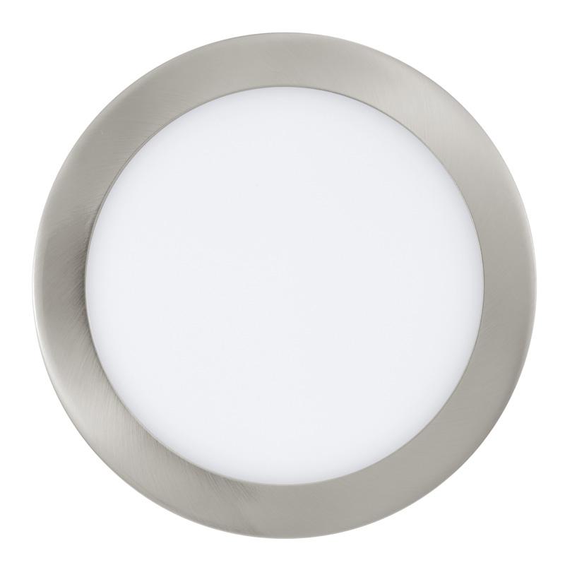 Точечный светильник 31675 EGLOвстраиваемые<br>Светодиодный встраиваемый светильник FUEVA 1, 16,47W (LED), ?225, литой металл, никель матовый, теплый. Бренд - EGLO. цвет плафона - белый. тип лампы - LED. ширина/диаметр - 225. мощность - 16.47.<br><br>популярные производители: EGLO<br>цвет плафона: белый<br>тип лампы: LED<br>ширина/диаметр: 225<br>максимальная мощность лампочки: 16.47