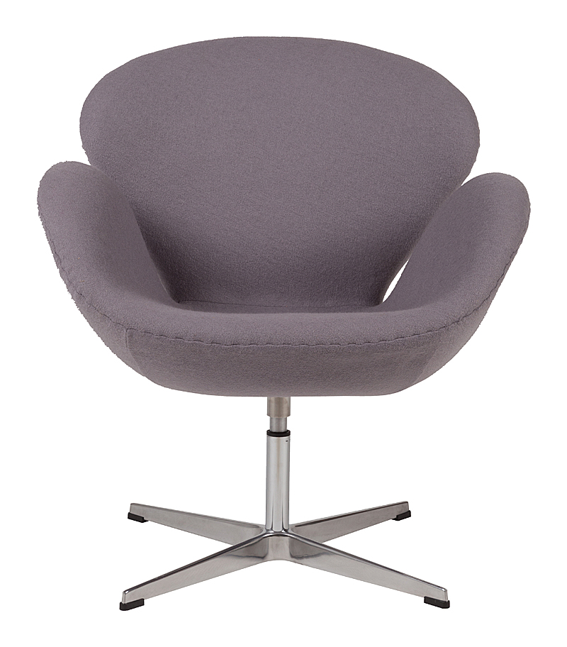 Кресло Swan Chair Серая Шерсть DG-HOMEКресла<br>. Бренд - DG-HOME. ширина/диаметр - 5. материал - Ткань, Поролон, Металл.<br><br>популярные производители: DG-HOME<br>ширина/диаметр: 5<br>материал: Ткань, Поролон, Металл