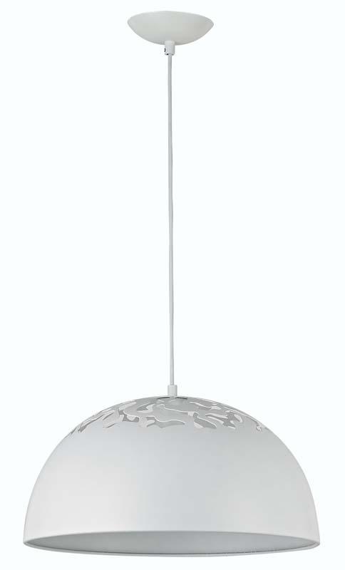 Подвесной  потолочный светильник S111005/1white Donoluxподвесные<br>Donolux Modern подвес, плафон металлический белого цвета, диам 40 см, макс выс 180 см, 1хE27 60W, ар. Бренд - Donolux. материал плафона - металл. цвет плафона - белый. тип цоколя - E27. тип лампы - накаливания или LED. ширина/диаметр - 400. мощность - 60. количество ламп - 1.<br><br>популярные производители: Donolux<br>материал плафона: металл<br>цвет плафона: белый<br>тип цоколя: E27<br>тип лампы: накаливания или LED<br>ширина/диаметр: 400<br>максимальная мощность лампочки: 60<br>количество лампочек: 1