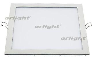 Потолочный светильник 015736 Arlightвстраиваемые<br>Тонкая панель 25Вт / БЕЛЫЙ 6000K / 1800лм / 120°. Размер 300x300x13мм (в отверстие 290x283мм). Корпус квадратный плоский, белый. Питание от сети 100-240VAC, драйвер в комлекте (600mA 30-42V).. Бренд - Arlight. материал плафона - пластик. цвет плафона - белый. тип лампы - LED. ширина/диаметр - 300. мощность - 25.<br><br>популярные производители: Arlight<br>материал плафона: пластик<br>цвет плафона: белый<br>тип лампы: LED<br>ширина/диаметр: 300<br>максимальная мощность лампочки: 25