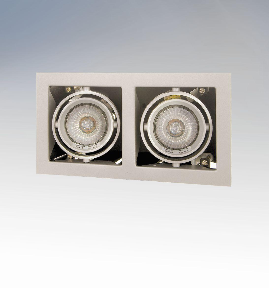 Потолочный светильник 214027 Lightstarвстраиваемые<br>214027 Светильник CARDANO  16 x2 (KT16-E2) ТИТАН 214027. Бренд - Lightstar. тип цоколя - GU5.3. тип лампы - галогеновая или LED. ширина/диаметр - 110. мощность - 50. количество ламп - 2. особенности - Светильник Кардан.<br><br>популярные производители: Lightstar<br>тип цоколя: GU5.3<br>тип лампы: галогеновая или LED<br>ширина/диаметр: 110<br>максимальная мощность лампочки: 50<br>количество лампочек: 2<br>особенности: Светильник Кардан