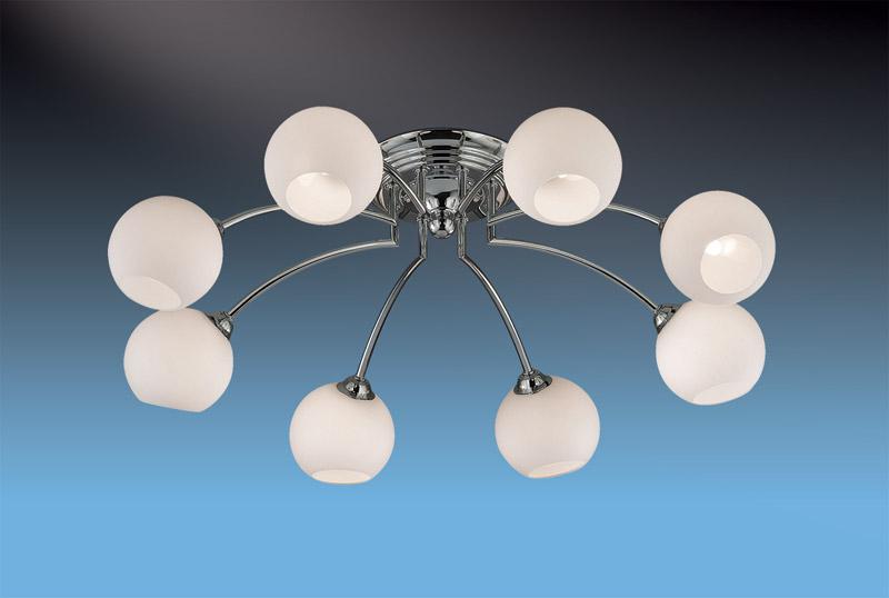 Потолочная люстра накладная 2159/8C Odeon Lightнакладные<br>2159/8C ODL11 312 хром Люстра потолочная  G9 8*40W 220V FRANTE. Бренд - Odeon Light. материал плафона - стекло. цвет плафона - белый. тип цоколя - G9. тип лампы - галогеновая или LED. ширина/диаметр - 625. мощность - 40. количество ламп - 8.<br><br>популярные производители: Odeon Light<br>материал плафона: стекло<br>цвет плафона: белый<br>тип цоколя: G9<br>тип лампы: галогеновая или LED<br>ширина/диаметр: 625<br>максимальная мощность лампочки: 40<br>количество лампочек: 8
