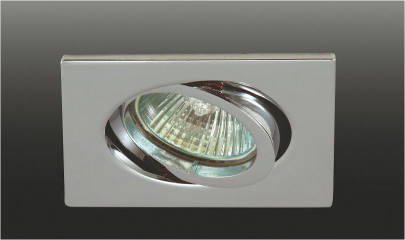 Точечный светильник SA1509.02 Donoluxвстраиваемые<br>DL369CH Donolux Светильник встраиваемый поворотный MR16,max 50w GU5,3 83x83 H 26, хром. Бренд - Donolux. тип цоколя - GU5.3. тип лампы - галогеновая или LED. ширина/диаметр - 83. мощность - 50. количество ламп - 1.<br><br>популярные производители: Donolux<br>тип цоколя: GU5.3<br>тип лампы: галогеновая или LED<br>ширина/диаметр: 83<br>максимальная мощность лампочки: 50<br>количество лампочек: 1