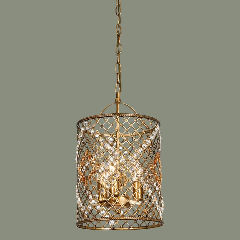 Подвесной  потолочный светильник 1026-3P от Дивайн Лайт