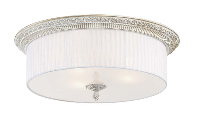 Накладной потолочный светильник SL134.502.03 ST-Luceнакладные<br>Светильник потолочный. Бренд - ST-Luce. материал плафона - ткань. цвет плафона - белый. тип цоколя - E27. тип лампы - накаливания или LED. ширина/диаметр - 470. мощность - 60. количество ламп - 3.<br><br>популярные производители: ST-Luce<br>материал плафона: ткань<br>цвет плафона: белый<br>тип цоколя: E27<br>тип лампы: накаливания или LED<br>ширина/диаметр: 470<br>максимальная мощность лампочки: 60<br>количество лампочек: 3