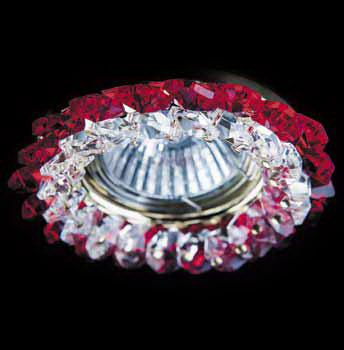 Точечный светильник 16-3100G Totciвстраиваемые<br>Точечный светильник 16-3100G. Бренд - Totci. материал плафона - хрусталь Asfour. цвет плафона - красный. тип цоколя - GU5.3. тип лампы - галогеновая или LED. ширина/диаметр - 80. мощность - 50. количество ламп - 1.<br><br>популярные производители: Totci<br>материал плафона: хрусталь Asfour<br>цвет плафона: красный<br>тип цоколя: GU5.3<br>тип лампы: галогеновая или LED<br>ширина/диаметр: 80<br>максимальная мощность лампочки: 50<br>количество лампочек: 1