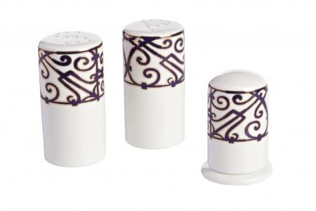 Набор для специй Violet Dreams DG-HOMEСервизы и наборы посуды<br>. Бренд - DG-HOME. ширина/диаметр - 90. материал - Костяной фарфор. цвет - Белый, Фиолетовый.<br><br>популярные производители: DG-HOME<br>ширина/диаметр: 90<br>материал: Костяной фарфор<br>цвет: Белый, Фиолетовый