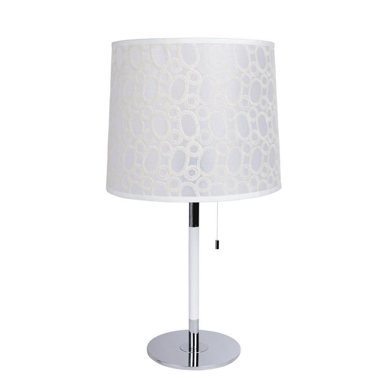 Настольная лампа 415031801 MW-LightНастольные лампы<br>415031801. Бренд - MW-Light. материал плафона - ткань. цвет плафона - белый. тип цоколя - E27. тип лампы - накаливания или LED. ширина/диаметр - 360. мощность - 60. количество ламп - 1.<br><br>популярные производители: MW-Light<br>материал плафона: ткань<br>цвет плафона: белый<br>тип цоколя: E27<br>тип лампы: накаливания или LED<br>ширина/диаметр: 360<br>максимальная мощность лампочки: 60<br>количество лампочек: 1