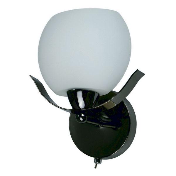 Бра 601/1A-SUNDarkchrome IDLampНастенные и бра<br>Настенный. Бренд - IDLamp. материал плафона - стекло. цвет плафона - белый. тип цоколя - E14. тип лампы - накаливания или LED. ширина/диаметр - 120. мощность - 60. количество ламп - 1.<br><br>популярные производители: IDLamp<br>материал плафона: стекло<br>цвет плафона: белый<br>тип цоколя: E14<br>тип лампы: накаливания или LED<br>ширина/диаметр: 120<br>максимальная мощность лампочки: 60<br>количество лампочек: 1
