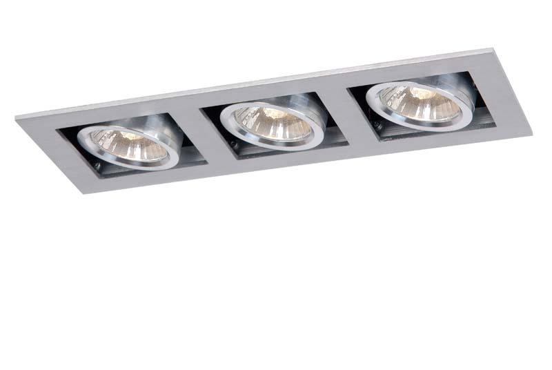 Точечный светильник 28900/03/12 LUCIDEвстраиваемые<br>CHIMNEY Spot 3x GU10/50W excl. Satin Chrome. Бренд - LUCIDE. тип цоколя - GU10. тип лампы - галогеновая или LED. ширина/диаметр - 90. мощность - 50. количество ламп - 3.<br><br>популярные производители: LUCIDE<br>тип цоколя: GU10<br>тип лампы: галогеновая или LED<br>ширина/диаметр: 90<br>максимальная мощность лампочки: 50<br>количество лампочек: 3